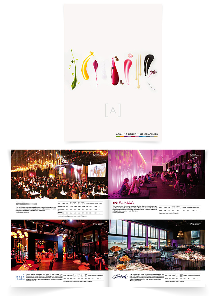 Atlantic Group venue brochure