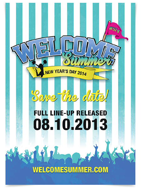 poster of Welcome Summer event 2014